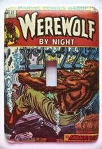 Werewolf Metal Light Switch Cover Comics Movies - $9.50