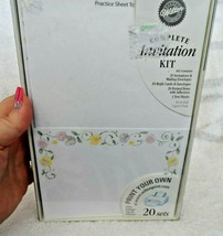 Invitation Kit by Wilton - 20 sets - invitations, reply cards, envelops,  - $13.50