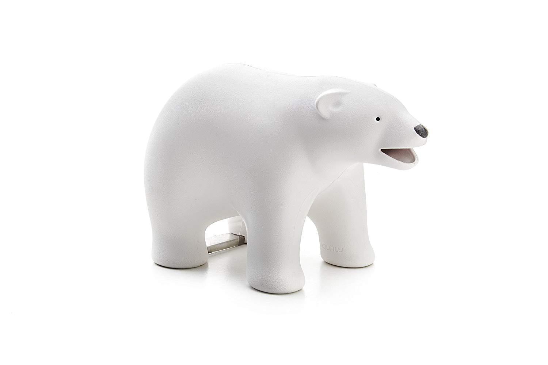 Qualy POLAR BEAR TAPE DISPENSER-WHT