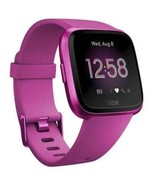 Fitbit Versa Lite FB415PMPM Smartwatch with Band - Mulberry - $186.31