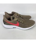 Nike Air Zoom Pegasus 35 Running Shoes Men's Size 11.5 Beige 942851 201 - $74.30
