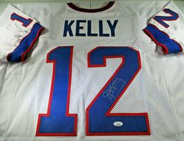 JIM KELLY / NFL HALL OF FAME / AUTOGRAPHED BUFFALO BILLS CUSTOM JERSEY / JSA image 1