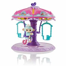 WowWee Fingerlings Playset: Twirl-A-Whirl Carousel with 1 Fingerlings Ba... - $24.83