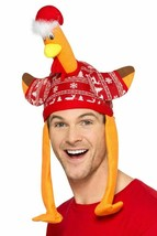 Turkey Hat Red with Christmas Jumper,Christmas Fancy Dress Accessories - $18.68 CAD