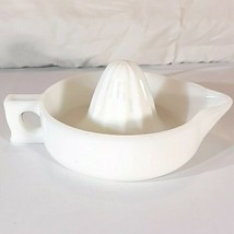Vintage 1950s White Milk Glass SUNKIST Hand Orange Juicer Reamer Made in... - $19.95