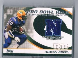 2004 Topps Pro Bowl Jerseys #PBAG Ahman Green MEM  - $62.33