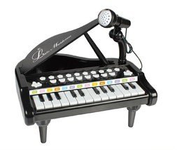 World Distribution Kids Grand Piano with Microphone Melody Musical Toy (... - $52.24