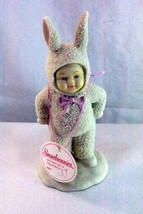 Dept 56 Snowbunnies I've Got A Surprise Springtime Stories Easter Figurine - $8.31