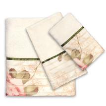 Popular Bath Madeline Beige Collection 3 Piece Towel Set - $34.19