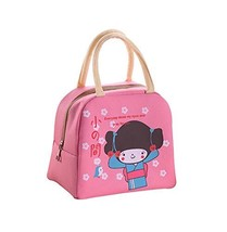 Lovely WaterProof Large Capacity Lunch Bag/Bags For Kids, Pink