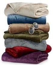 SUNBEAM  Slumber Rest Plush Heated King  Blanket - $112.85