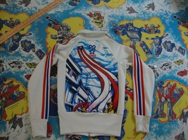 Adidas Originals Puerto Rico San Juan Hip-Hop Athletic Track Jacket Adult XS - $98.99