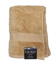 New Ralph Lauren Wescott (1) Bath Towel Soft Ochre Beige 30 x 56 in - $14.65