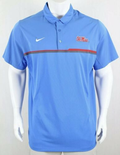 c1f1a19fe Nike Mens Dri-Fit Blue Ole Miss Rebels Polo and 50 similar items. 12