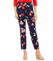 New Investments Women's The Park Ave Fit Ankle Pants Spring Floral Size 12 - $31.21
