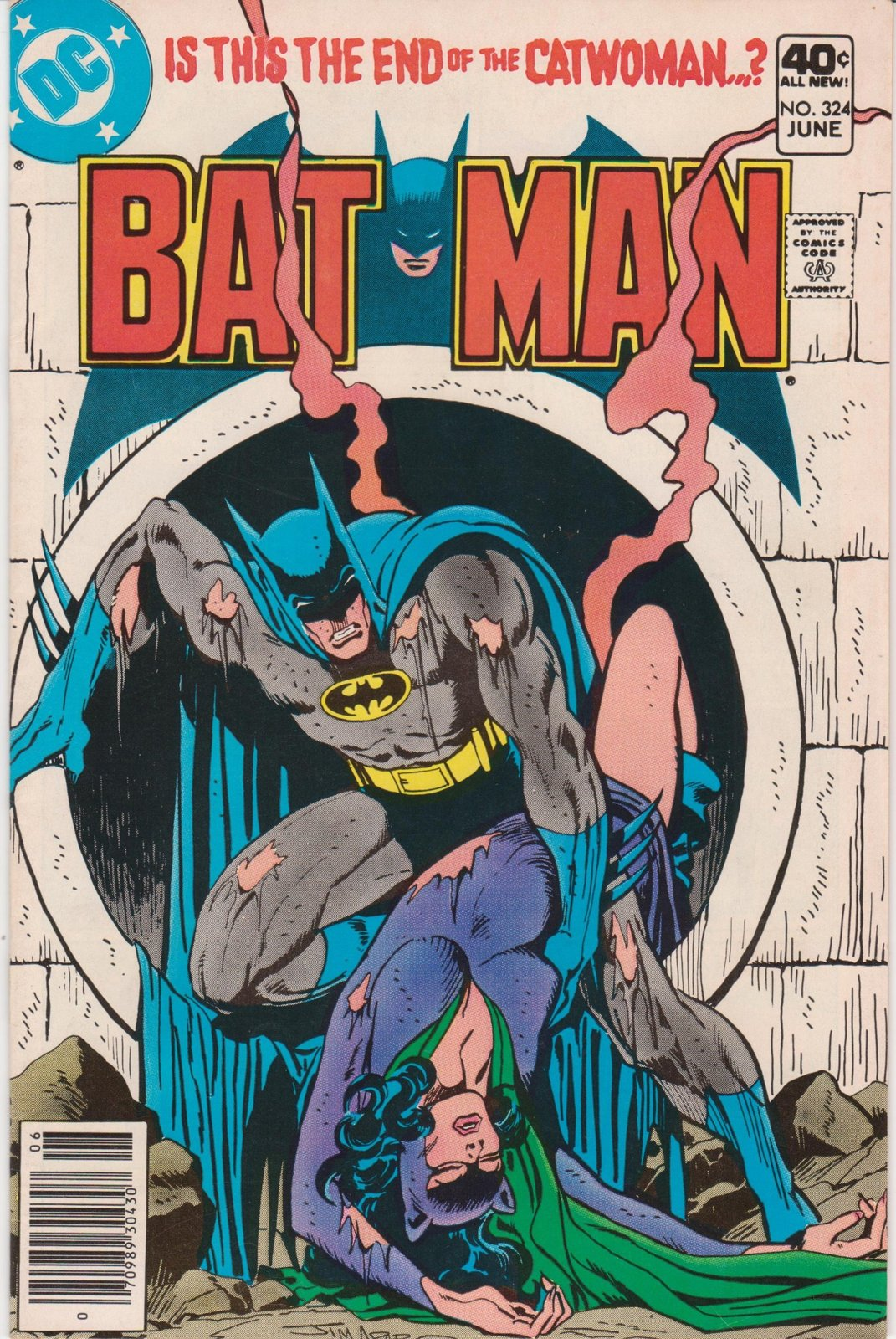 Primary image for Batman #324 [Comic] [Jan 01, 1980] Len Wein; Irv Novick and Bob Smith
