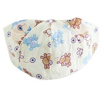 Breathable Sun-resistant Comfy Beach Cap Empty Top Hat Summer Baby Hat Scarf image 1
