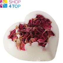 ROSIE HEART BATH CREAMER BOMB COSMETICS ROSE FLORAL HANDMADE NATURAL NEW - $3.95