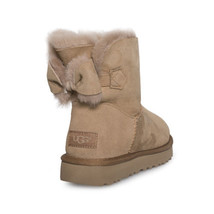 Ugg Naveah Chestnut Suede Sheepskin Women's Boots Size Us 7/UK 5.5/EU 38 New - $153.99