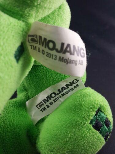 "2 Mojang Jinx Minecraft Green Creepers Plush Stuffed Animal Toy Green 7"""