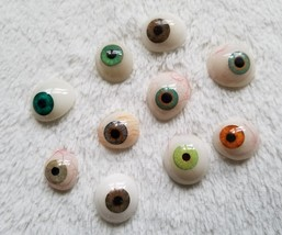10 Unique Shades of Artificial Eyes Prosthetic Ocular Ships from USA - $186.99
