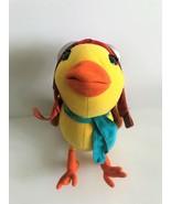 "2002 Hasbro Stuart Little 2 Margalo Talking Plush 11"" Yellow Canary - $74.79"