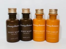 4pc Set Tommy Bahama Hotel Travel Size Body Wash & Body Cream (160ml total) - $201,74 MXN