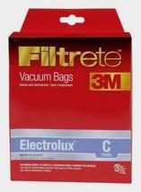 Filtrete ELECTROLUX C Vacuum Bags 3 pk Micro Allergen Attaches to Vacuum 67706A - $8.99