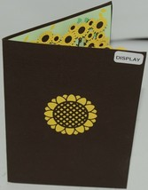 Lovepop LP1570 Sunflower Pop Up Card White Envelope Cellophane Wrapped image 2