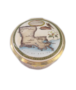 Halcyon Days Enamels - Louisiana State Collection LE 1000 - $200.00
