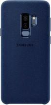 Samsung Alcantara Cover for Galaxy S9+, Blue - EF-XG965ALEGUS - $14.84