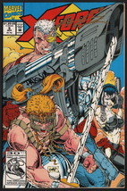 X-Force #9 SIGNED by Rob Liefeld & Dan Panosian / Marvel Comic Art / X-Men Cable - £31.89 GBP