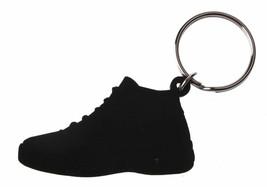 Good Wood NYC Concord 11 Black Sneaker Keychain Blk XI Shoe Key Ring key Fob image 2