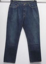 Polo Ralph Lauren Destino Mens (35x32) Classic Straight Leg Dark Blue J EAN S Usa - $39.60