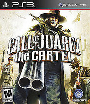 CALL OF JUAREZ: THE CARTEL PS3 #I-297 C - $19.75