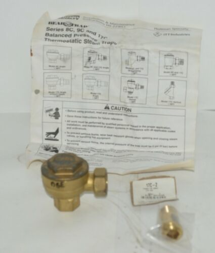 ITT Industries 401536 Hoffman Specialty 1/2 Inch Angle Thermostatic Trap