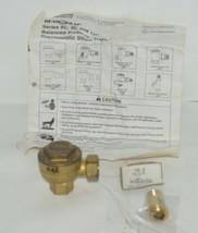 ITT Industries 401536 Hoffman Specialty 1/2 Inch Angle Thermostatic Trap image 1