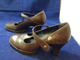 Aeropostale Women's Brown Dressy Summer Pumps Sz 9M image 3