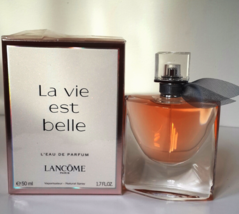 LA VIE EST BELLE BY LANCOME 1.7OZ (50ML) EDP SPRAY FOR WOMEN NEW IN BOX  - $64.30
