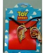 Disney Toy Story Woody & Bo Peep Best Friends Necklace - $19.33