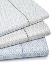 Hotel Collection Textured Lattice Cotton 525-Thread Count 4-Pc. King Sheet Set - $148.49
