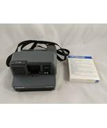 Polaroid Impulse 600 Instant Camera & Film Lot UNTESTED For Parts or Repair - $39.95