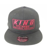 NEW ERA 9FIFTY KING OFF ROAD RACING SHOCKS HAT CAP SNAPBACK RED EMBROIDERED HA - £24.26 GBP