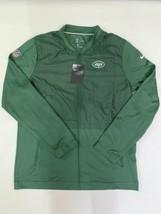 New York Jets Nike On Field Apparel NFL Jacket Mens Large Green 907675-3... - $39.59
