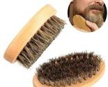 Natural Boar Bristle Beard Brush Comb Hair Men Handmade Mustache Wooden Grooming