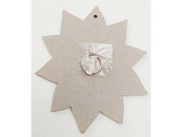 "Michael's Flower Shaped Chipboard Book Mini Album 7.5"" x 6.75"""