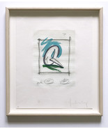Claes Oldenburg Hand Signed Numbered Ltd. Ed. Color Etching/Aquatint 198... - $3,465.00