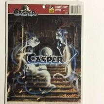 Golden Books Casper Movie Frame Tray Puzzle 12pc Vintage Jigsaw 8269 Gho... - $3.95