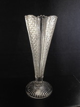 """McKee RAINBOW 10"""" Vase Hobnails and Ribs Cane Pattern Introduced 1898 VFC! - $26.35"""