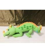 Vintage Kenner 1995 Magic School Bus Liz The Lizard Stuffed Plush Toy HTF - $99.00